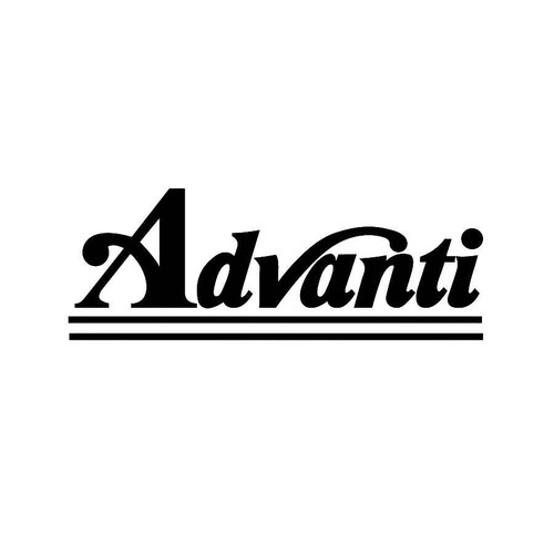 Advanti Wheels Decals  Vinl Decal Car Graphics Made from only the best quality vinyl Glossy Outdoor lifespan 5 -7 years Indoor lifespan is much longer Easy application