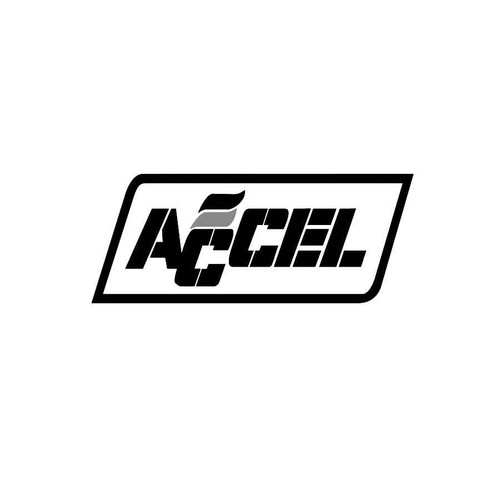 Accel Performance Decals 03  Vinl Decal Car Graphics Made from only the best quality vinyl Glossy Outdoor lifespan 5 -7 years Indoor lifespan is much longer Easy application