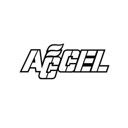 Accel Performance Decals 01  Vinl Decal Car Graphics Made from only the best quality vinyl Glossy Outdoor lifespan 5 -7 years Indoor lifespan is much longer Easy application