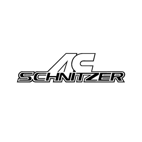 AC Schnitzer Decals  Vinl Decal Car Graphics Made from only the best quality vinyl Glossy Outdoor lifespan 5 -7 years Indoor lifespan is much longer Easy application
