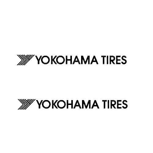Yokohama Sticker Made from only the best quality vinyl Glossy Outdoor lifespan 5 -7 years Indoor lifespan is much longer Easy application
