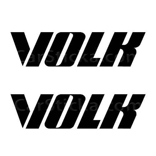 Volk Racing B Sticker Made from only the best quality vinyl Glossy Outdoor lifespan 5 -7 years Indoor lifespan is much longer Easy application