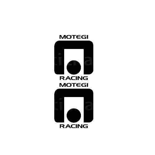 Motegi Sticker Made from only the best quality vinyl Glossy Outdoor lifespan 5 -7 years Indoor lifespan is much longer Easy application