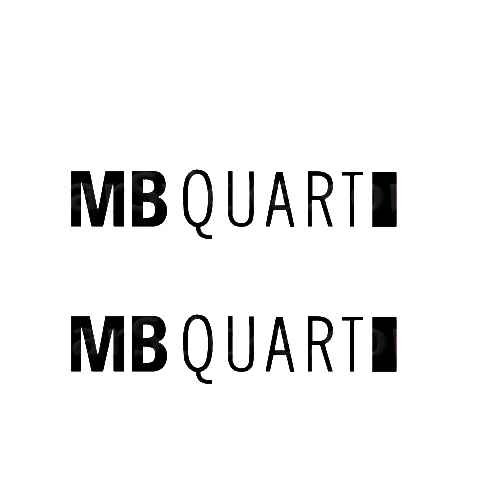MB Quart Audio Sticker Made from only the best quality vinyl Glossy Outdoor lifespan 5 -7 years Indoor lifespan is much longer Easy application