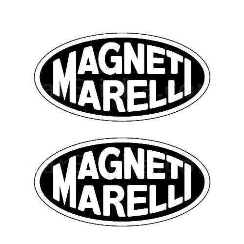 Magneti Marelli A Sticker Made from only the best quality vinyl Glossy Outdoor lifespan 5 -7 years Indoor lifespan is much longer Easy application