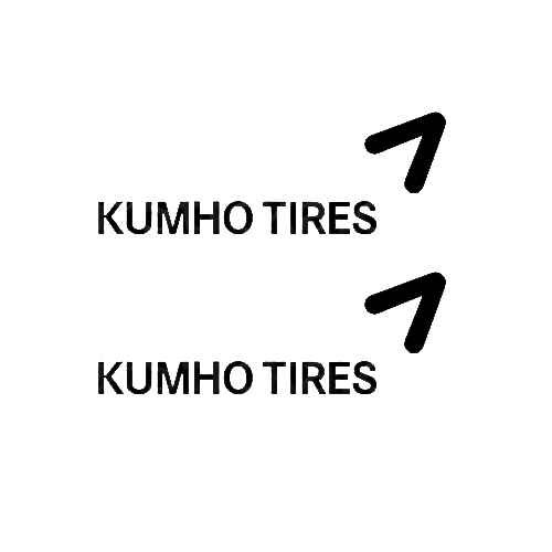 Kumho Tires (B) Sticker Made from only the best quality vinyl Glossy Outdoor lifespan 5 -7 years Indoor lifespan is much longer Easy application