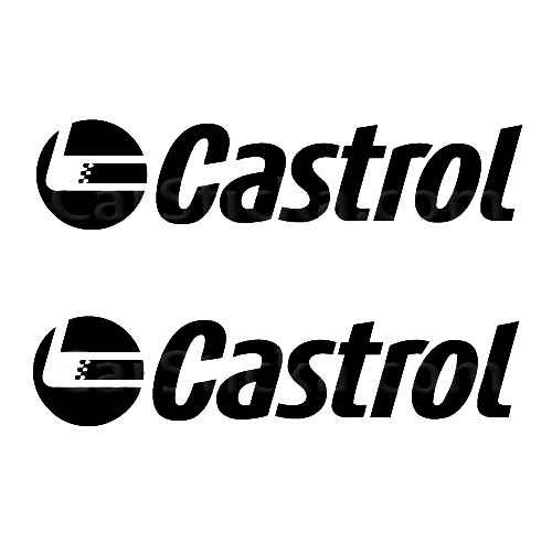 Castrol Motor Oil D Sticker Made from only the best quality vinyl Glossy Outdoor lifespan 5 -7 years Indoor lifespan is much longer Easy application