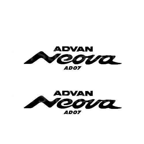 Advan Neova Sticker Made from only the best quality vinyl Glossy Outdoor lifespan 5 -7 years Indoor lifespan is much longer Easy application