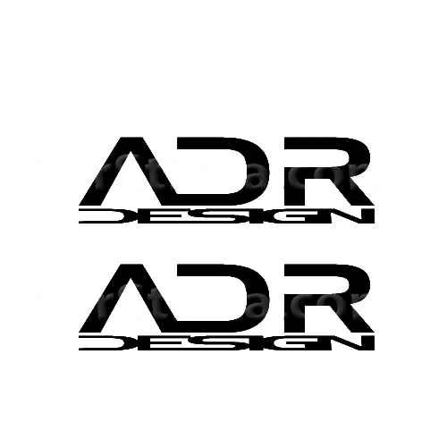 ADR Design Sticker Made from only the best quality vinyl Glossy Outdoor lifespan 5 -7 years Indoor lifespan is much longer Easy application