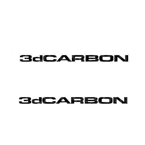3DCarbon Sticker Made from only the best quality vinyl Glossy Outdoor lifespan 5 -7 years Indoor lifespan is much longer Easy application