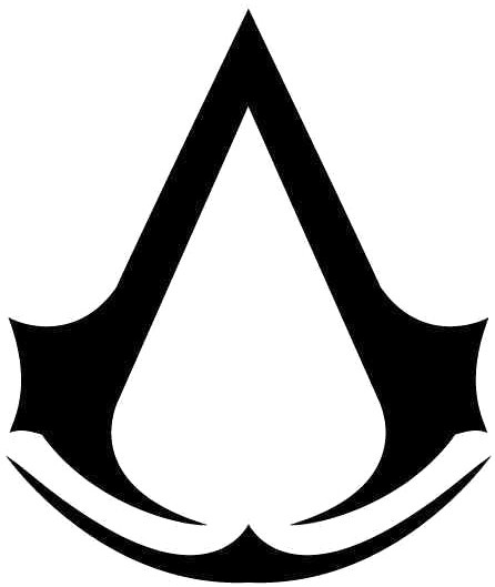 Assassin'S Creed Logo Vinyl Decal Sticker