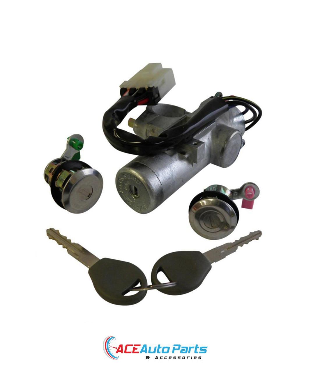 Ignition barrel switch door locks set For Nissan Navara D22.