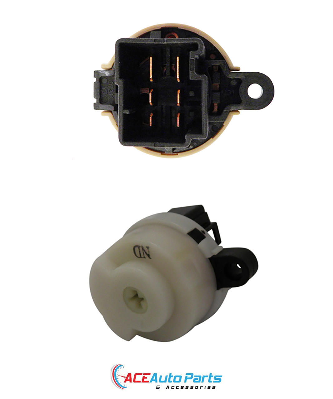Ignition Barrel + Switch For Ford Ranger PJ + PK 2006 to 2009 With 2 Keys