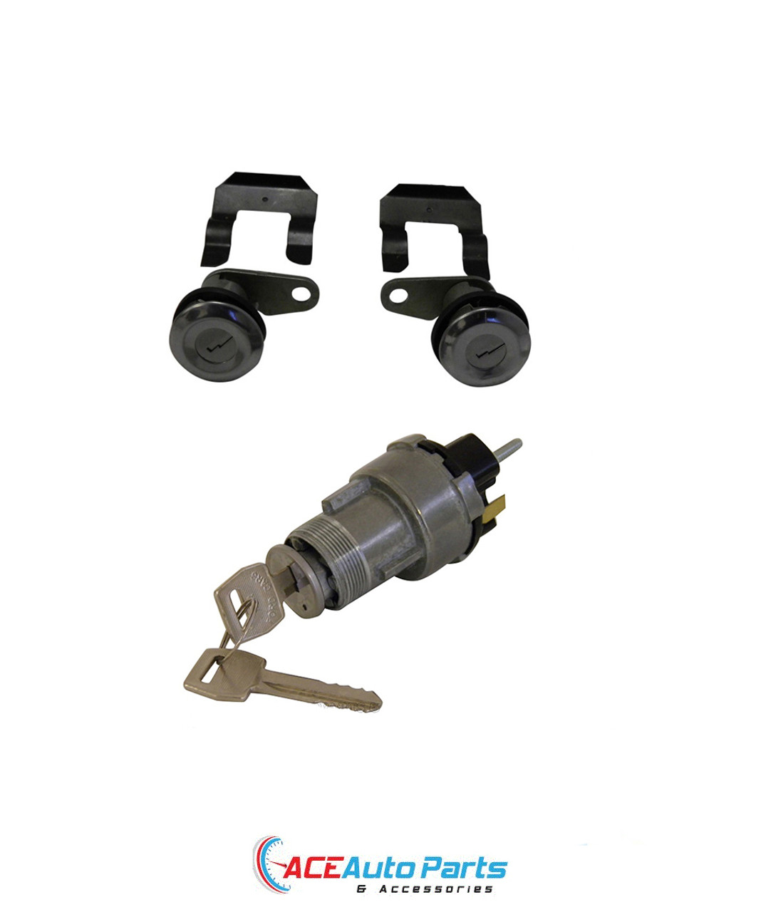 Ignition Switch + Door Lock Set For Ford XR XT XW XY Falcon