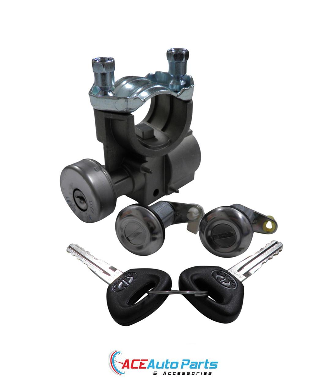 Ignition Barrel + Front Door Locks For Mazda E1400 E1800 E2000 1984-1999