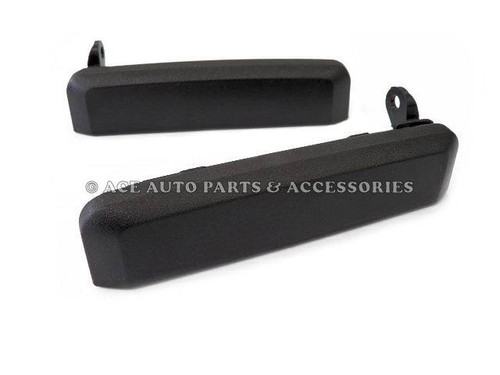 New Pair Of Front Outer Door Handle For Nissan Navara D21 86 To 97