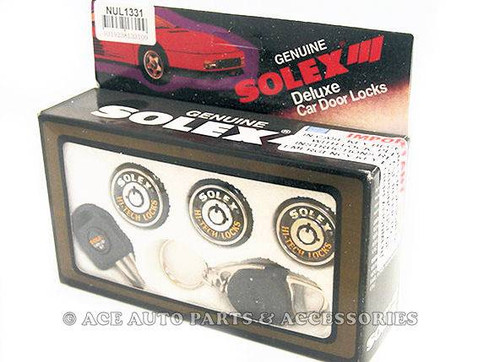 New Solex Anti Theft Doors Boot Lock Set For Holden Astra LD
