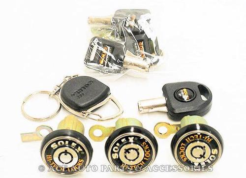 New Solex Anti Theft Doors Boot Lock Set For Holden Apollo JK JL