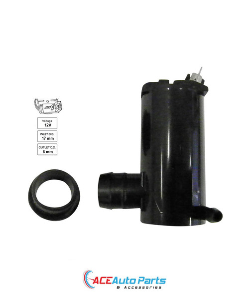 Windscreen Washer Pump For Ford Festiva WB 03/1994 to 11/1997