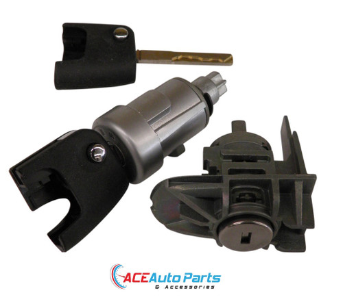 Ignition Barrel & Right Door Lock Set For Ford FG G6, G6E, XR6, XR8