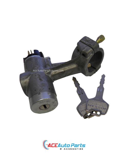 Ignition barrel + switch for Nissan + Datsun Stanza