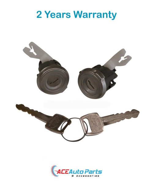 Door locks for Ford Falcon EA Fairlane NA 1988-09/1990. New Pair with keys.