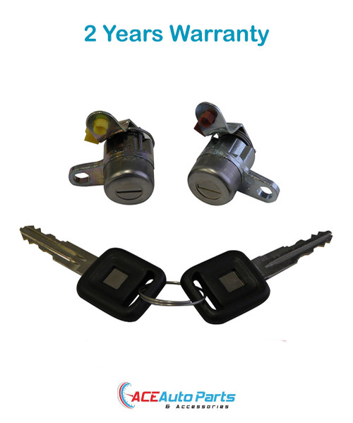 Door locks for Holden Rodeo TF 02/1988 to 07/2003. New Pair with keys.