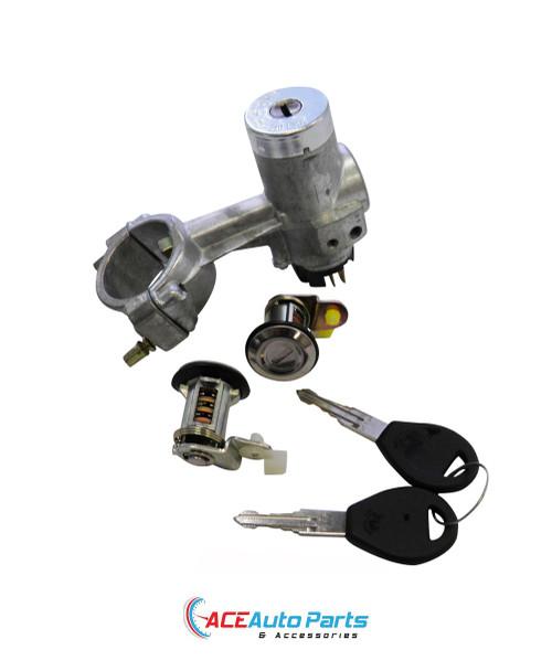 Ignition Barrel Lock + Switch + Door Locks For Subaru Brumby