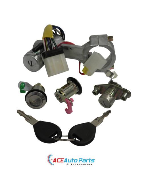 Ignition lock + switch + door locks + hatch lock For Nissan Pulsar N14
