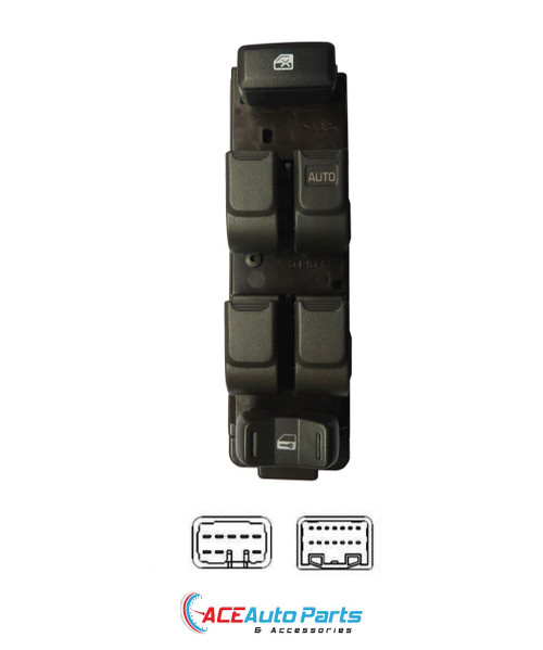 Power Window Switch For Isuzu D-Max dual cab 2006-2012
