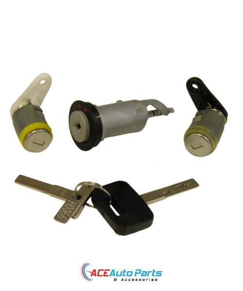 Ignition Barrel + Door Locks Set For Commodore VN+VG+VP+VR