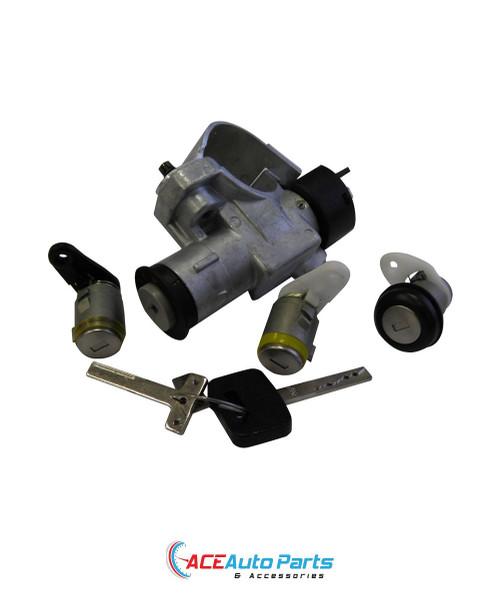 Ignition Barrel + Switch + Door Locks + Boot Lock Set For Commodore VN+VP+VR+VS
