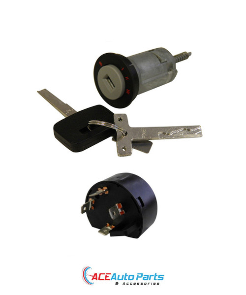 Ignition Barrel + Switch & Keys For Commodore VT+VU+VX+VY+VZ