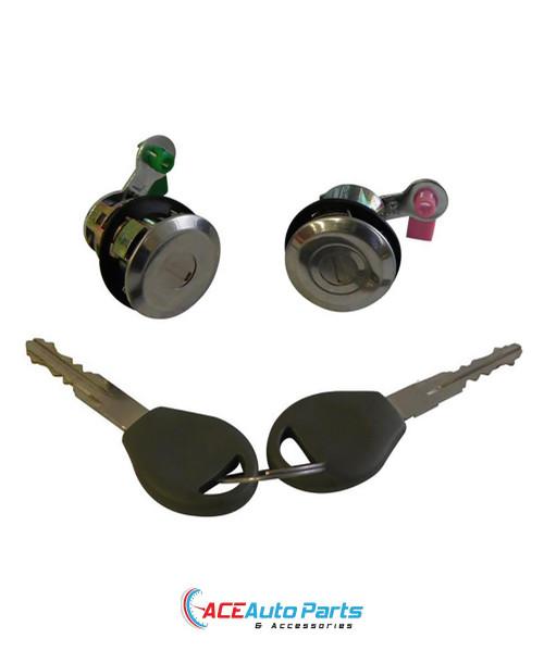 Door locks + keys for Nissan Navara D22