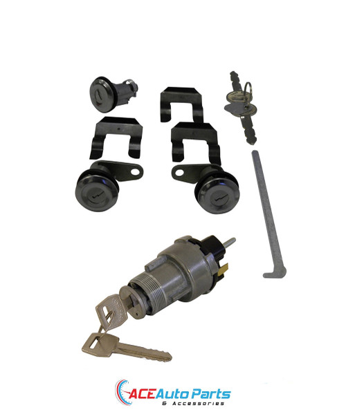 Ignition switch + Door locks + Boot Lock Set For Ford XR XT XW XY