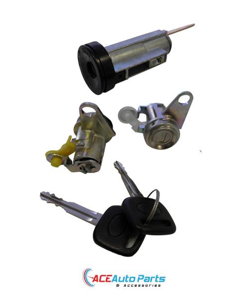 Ignition barrel + door locks for Holden Nova LG 1994 to 1996