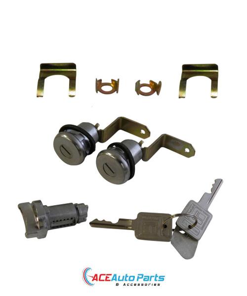Ignition Barrel + Door Locks Set For Torana LC