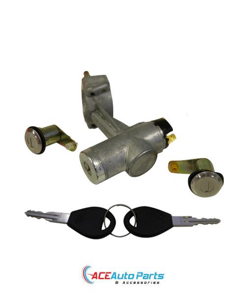 Ignition Barrel Lock Switch + Door Locks For Nissan 620 + 720 Ute