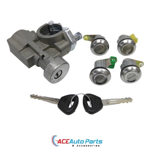 Ignition Barrel Door Locks Set For Ford Econovan + Maxi Spectron 84-99