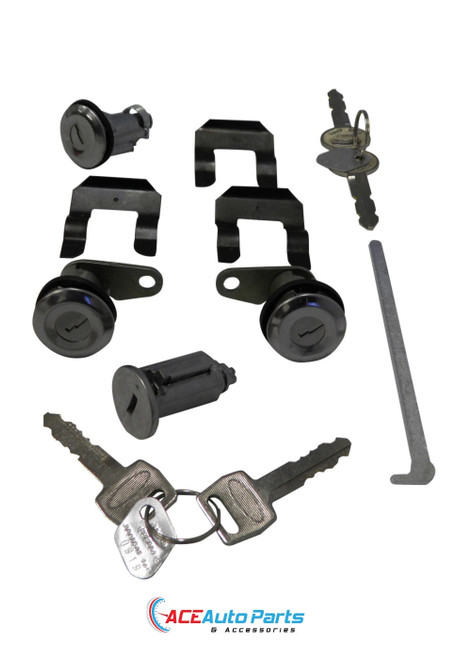 Ignition Barrel Door Locks Boot Lock Set For Ford Fairlane ZA ZB ZC ZD