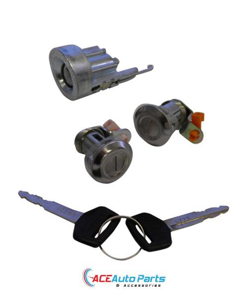 Ignition Barrel + Door Locks Set For Toyota Hiace Van