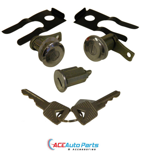 Ignition Barrel & Door Locks Set For Ford Mustang 1965 to 1966