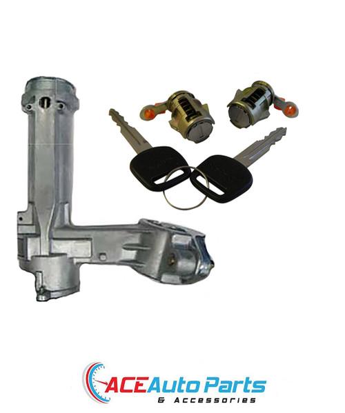 Ignition Barrel Lock + Door Locks For Toyota Corolla AE90+AE92 02/1989 - 06/1994