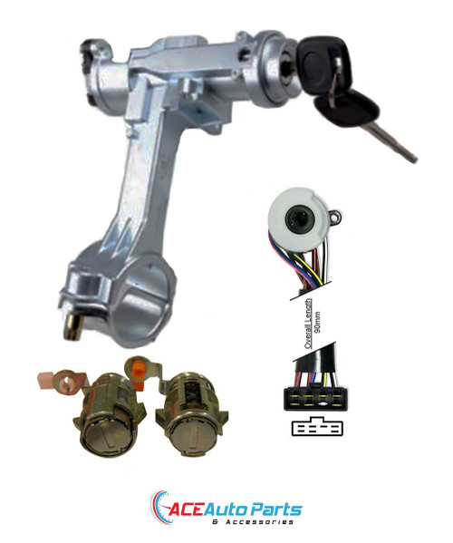 Ignition Barrel + Switch + Door Locks For Toyota Hilux 88-07/91