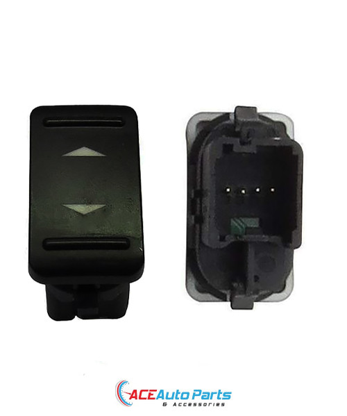 Power Window Switch For Ford Focus LV 05/2007 to 06/2011 Single Button