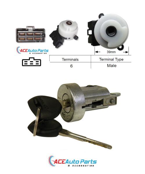 Ignition Barrel + Switch For Mitsubishi Triton MK