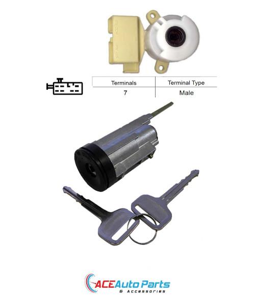 Ignition Barrel + Switch For Holden Nova LG 1994 to 1996