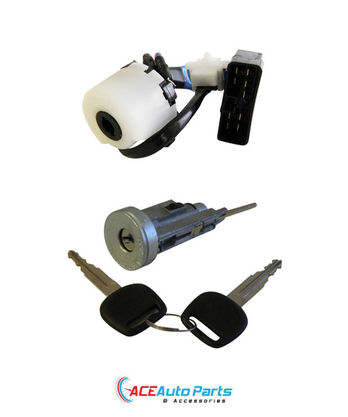 Ignition Barrel + Ignition Switch For Toyota Landcruiser 80 Series