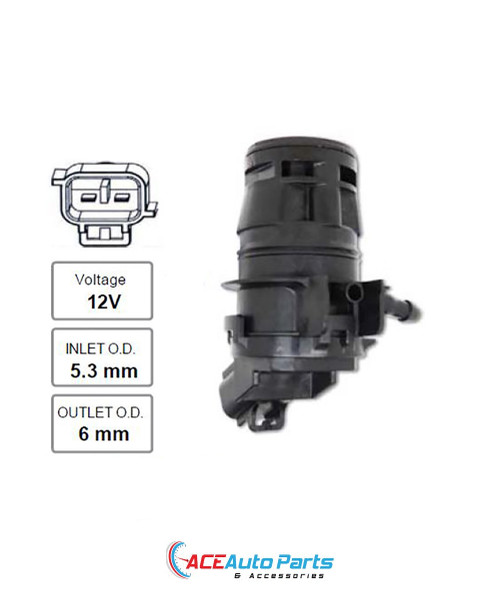 Windscreen Washer Pump For Toyota Corolla ZRE152R Front 2007-2015
