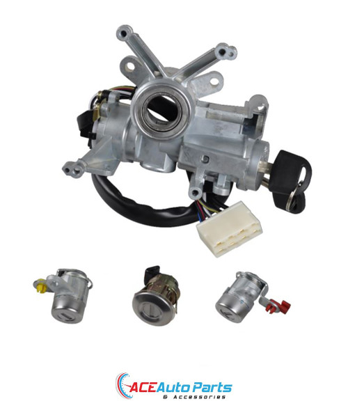Ignition Housing + Barrel + Switch + Door Locks For Holden Rodeo TF 5/1997 to 2003